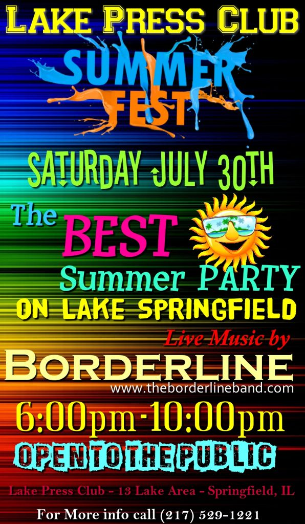 Lake Press Club Summer Fest 2016